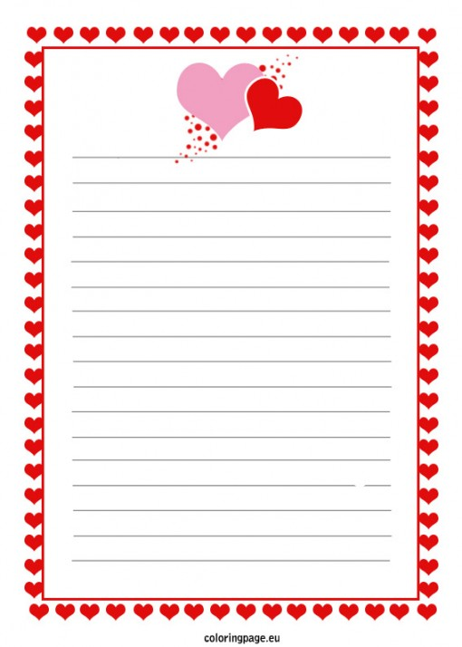 sample love letter template10