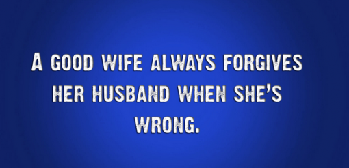 husband wife jokes with pictures